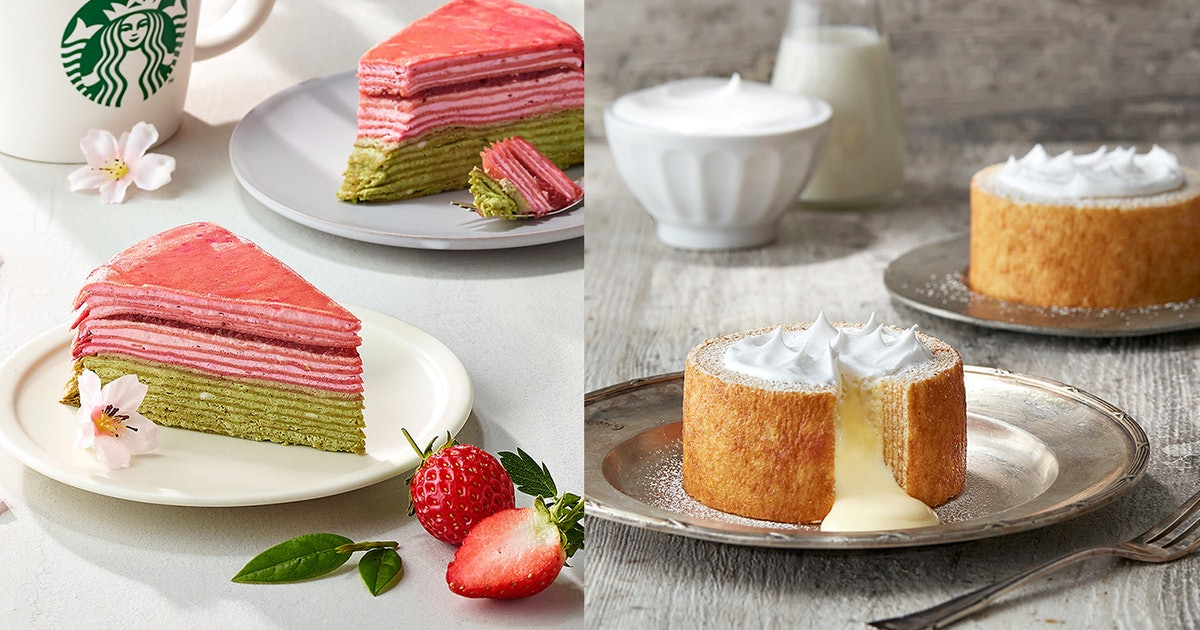 14 Starbucks Cakes You Can Get All Over The World