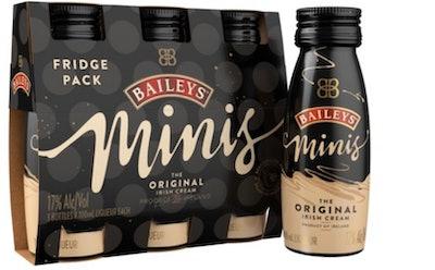 Baileys Minis The Original Irish Cream Liqueur, 100 mL (3 Pack)