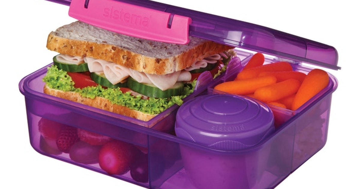 8 Bento Boxes For Kindergarten, Because Little Hands Need Easy-To-Open Lunches