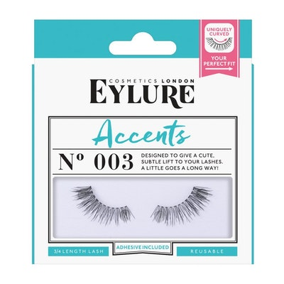 Eylure Accents False Lashes, Style No. 003 (1 Pair)