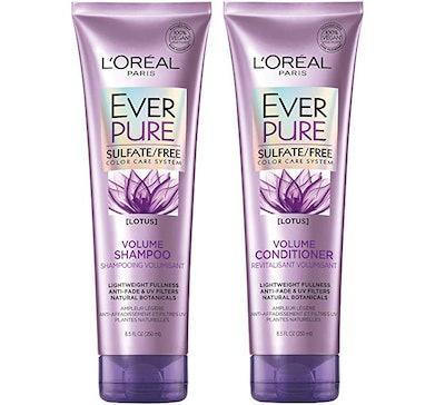 L'Oréal Paris Ever Pure Sulfate-Free Volume Shampoo & Conditioner