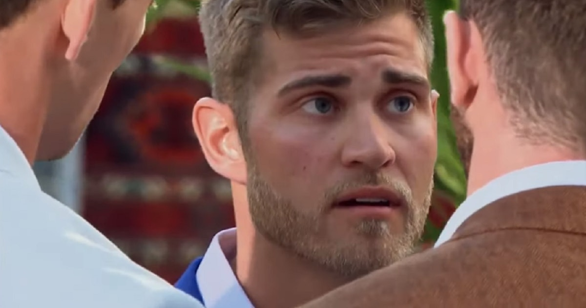 Luke's Return To 'The Bachelorette' After Being Eliminated Is Dramatic AF