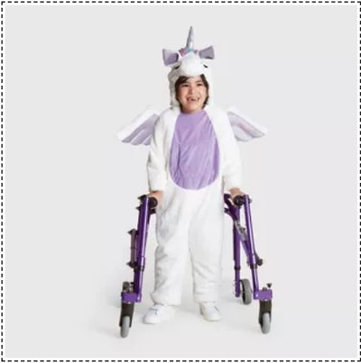 Kids Plush Adaptive Unicorn Halloween Costume