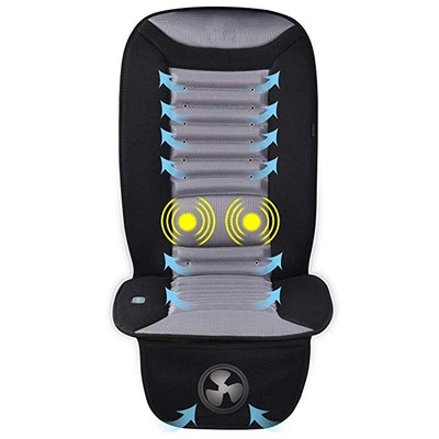 Snailax Cooling And Massaging Seat Cushion
