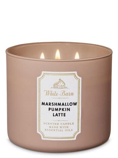 Marshmallow Pumpkin Latte 3-Wick Candle