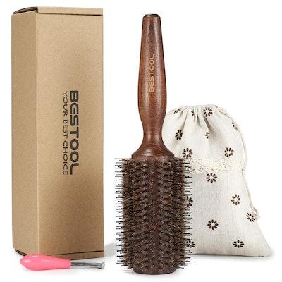 Bestool Boar Bristle Round Hair Brush