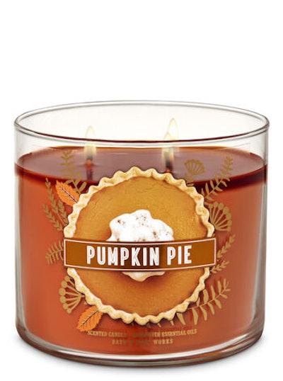 Pumpkin Pie 3-Wick Candle