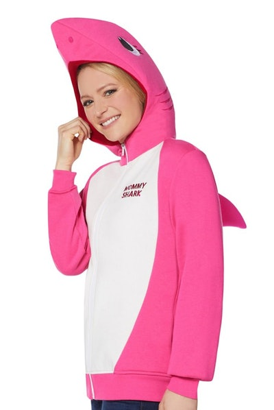 Adult Mommy Shark Costume Hoodie