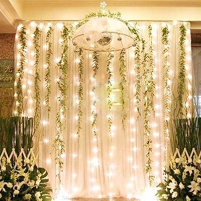 Twinkle Star LED Curtain