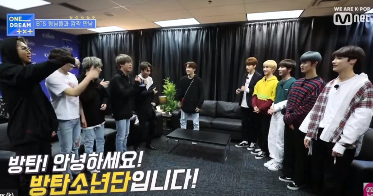 This Video Of TXT Meeting BTS After Their Chicago Concert Will Warm your Heart
