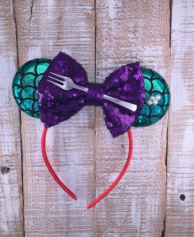 Little Mermaid Inspired Minnie Ears