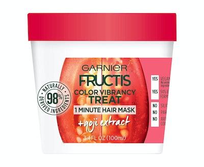 Garnier Fructis Color Vibrancy Treat 1-Minute Hair Mask