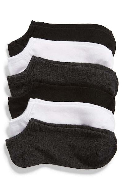 NORDSTROM Footie Socks, (6 Pack)