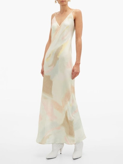Liberty Pastel Tie-Dye Slip Dress