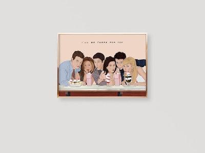 Friends TV Show Poster