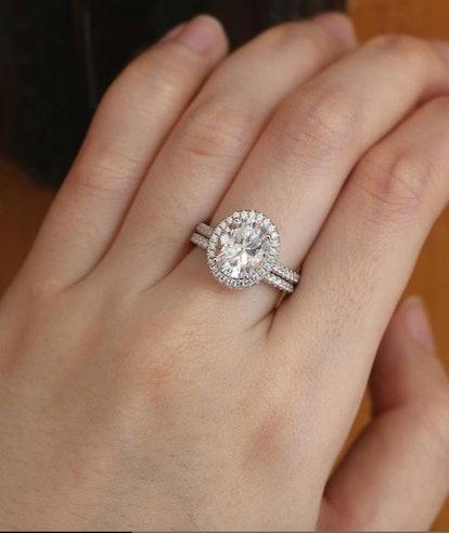 3.4ctw Wedding Ring Set