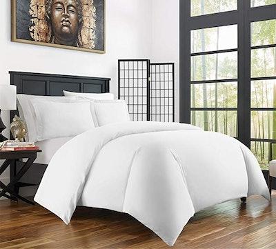 Zen Bamboo Rayon Derived Duvet Cover Set