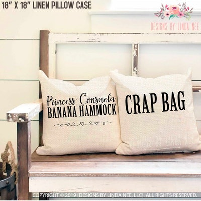 Crap Bag Pillow Cover