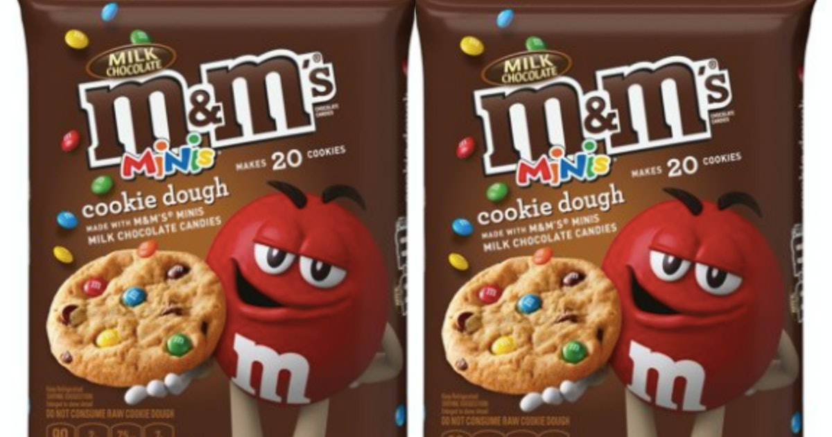 M&M's Minis Cookie Dough Is The Rainbow Treat Of Your '90s Kid Heart