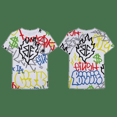 Billie Eilish x Freak City Graffiti All Over Print Tee