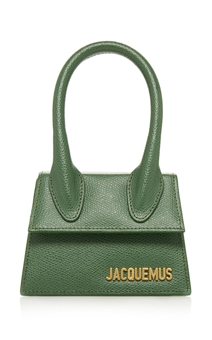 Le Chiquito Mini Leather Bag in Green