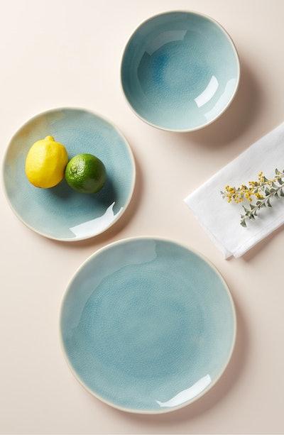 ANTHROPOLOGIE, blue Clara Salad Plate (1-piece)