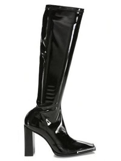 Mascha Patent Knee-High Boots
