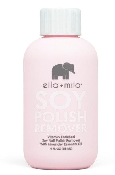 Ella + Mila Soy Nail Polish Remover