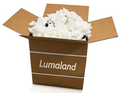 Lumaland Shredded Memory Foam Fill Replacement (1 Pound)
