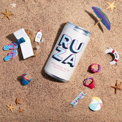 Ruza® 2018 Rosé 187ml Cans 4-Pack