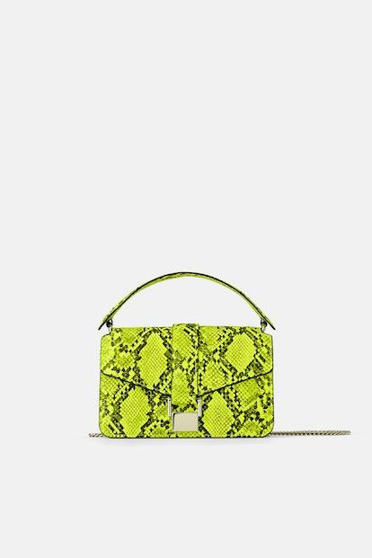 Animal Print Mini City Bag