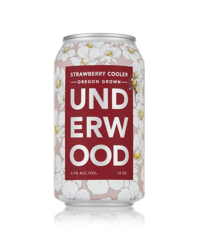 Underwood Strawberry Cooler 4-Pack