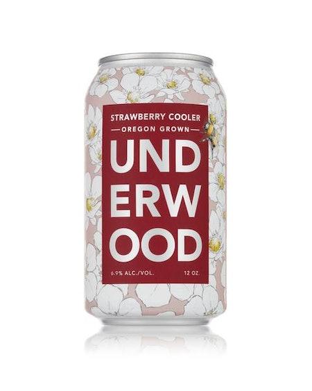 Underwood Strawberry Cooler 4-Pack