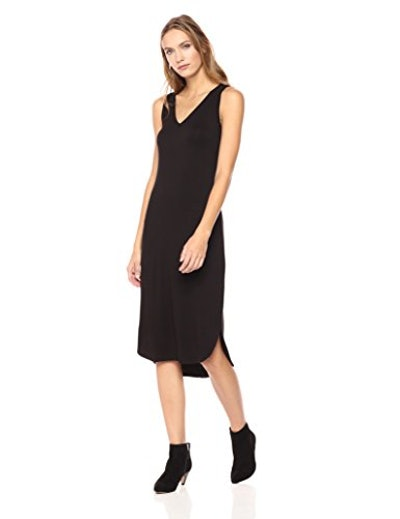 Daily Ritual Jersey Sleeveless V-Neck Dress