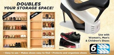 Shoe Slotz Space Savers (Set Of 6)