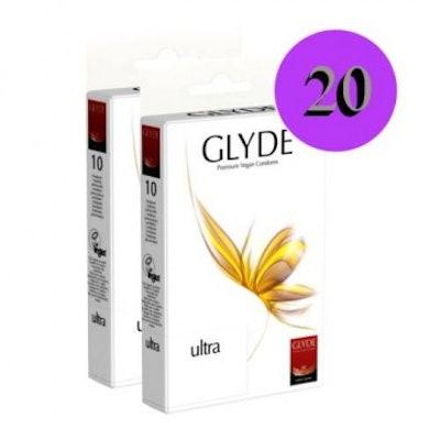 Glyde Ultra 20 Pieces Condoms