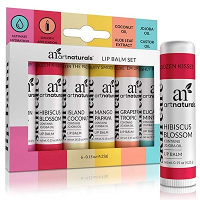 ArtNaturals Lip Balms (Set of 6)