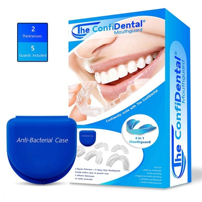 The ConfiDental Moldable Mouth Guards (5 Pack)