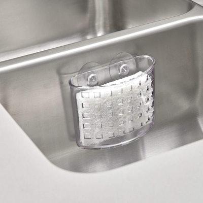 nterDesign Plastic Kitchen Sink Suction Holder