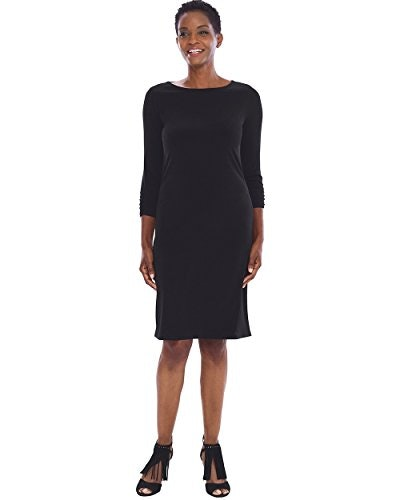 Chico's Wrinkle-Resistant Ruched-Sleeve Dress