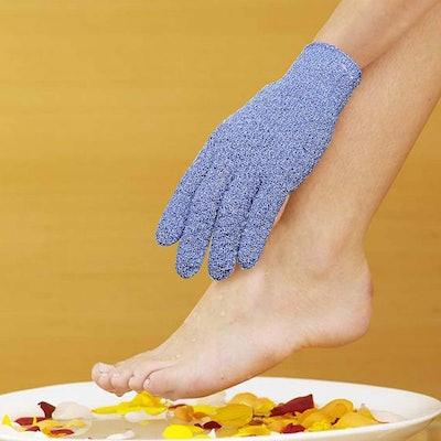 Evridwear Exfoliating Shower Gloves