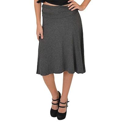 Stretch is Comfort Flowy Skirt