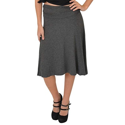 Stretch is Comfort Flowy Skirt