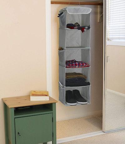 Simple Housewares 5-Shelf Hanging Organizer
