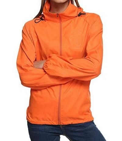Zeagoo Lightweight Packable Women's Windbreaker Raincoat