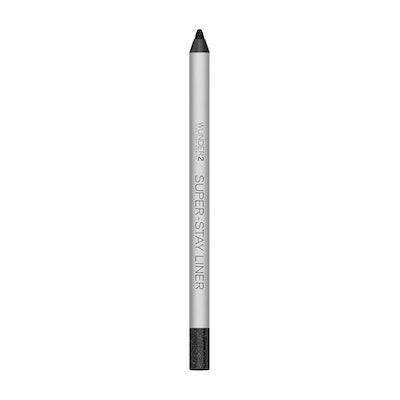 SUPER-STAY LINER Long-Lasting & Waterproof Colored Eyeliner in Glitter Black