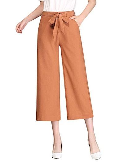 Tanming Wide-Leg Trousers