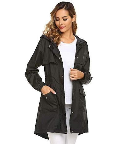 Avoogue Womens Rain Coat