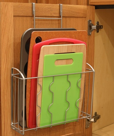 SimpleHouseware Over the Cabinet Door Organizer