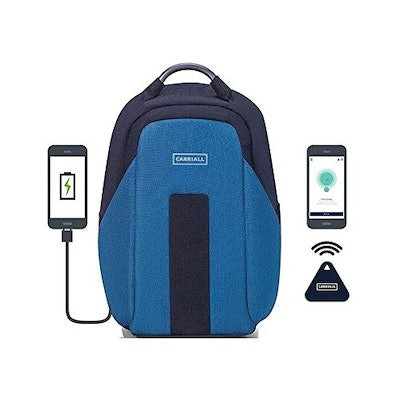 Carriall Vasco Smart Laptop Backpack With Bluetooth Connectivity